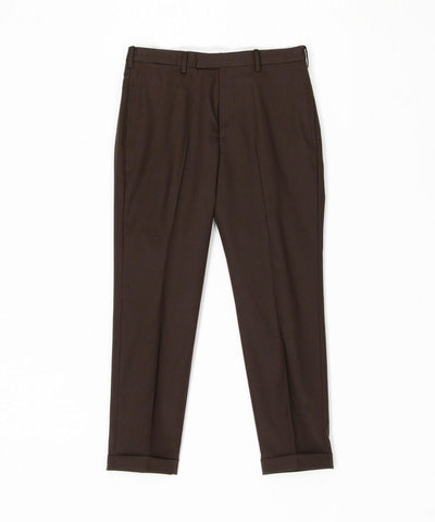 Wool Matte Slim Slacks