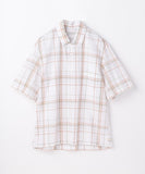 Cotton Poplin Short Sleeve City Shirt