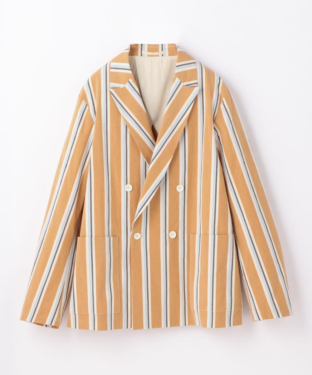 Cameriere Striped Double Breasted Jacket