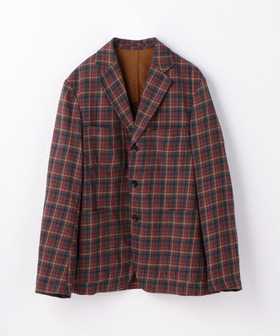Crepe Wool Step back 3B Tailored Jacket