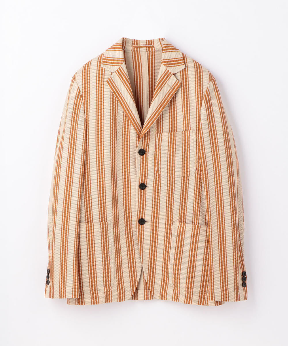Virtudso Beige Stripe Jacket