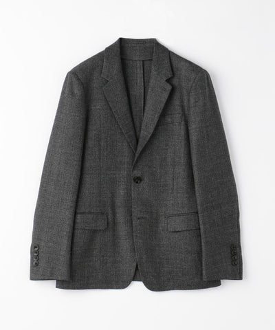 TOMORROWLAND MEN  Super 120's wool flannel 2B tailored jacket