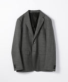 Wool matte 2B tailored jacket