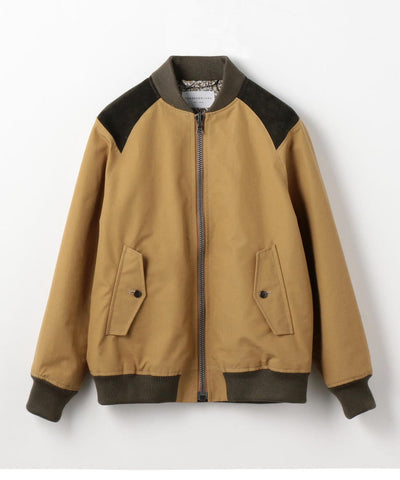 Ventile Zip Up Blouson Jacket