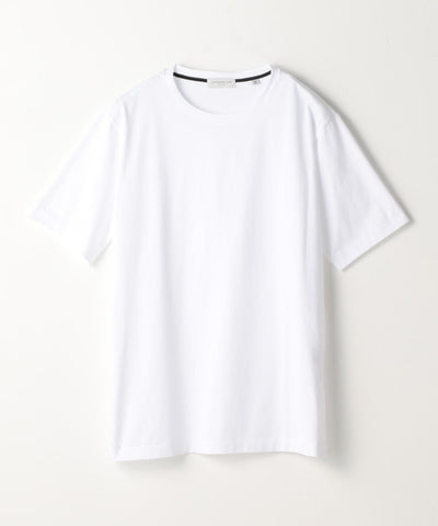 Purity Suvin Cotton Jersey Crew Neck T-Shirt White
