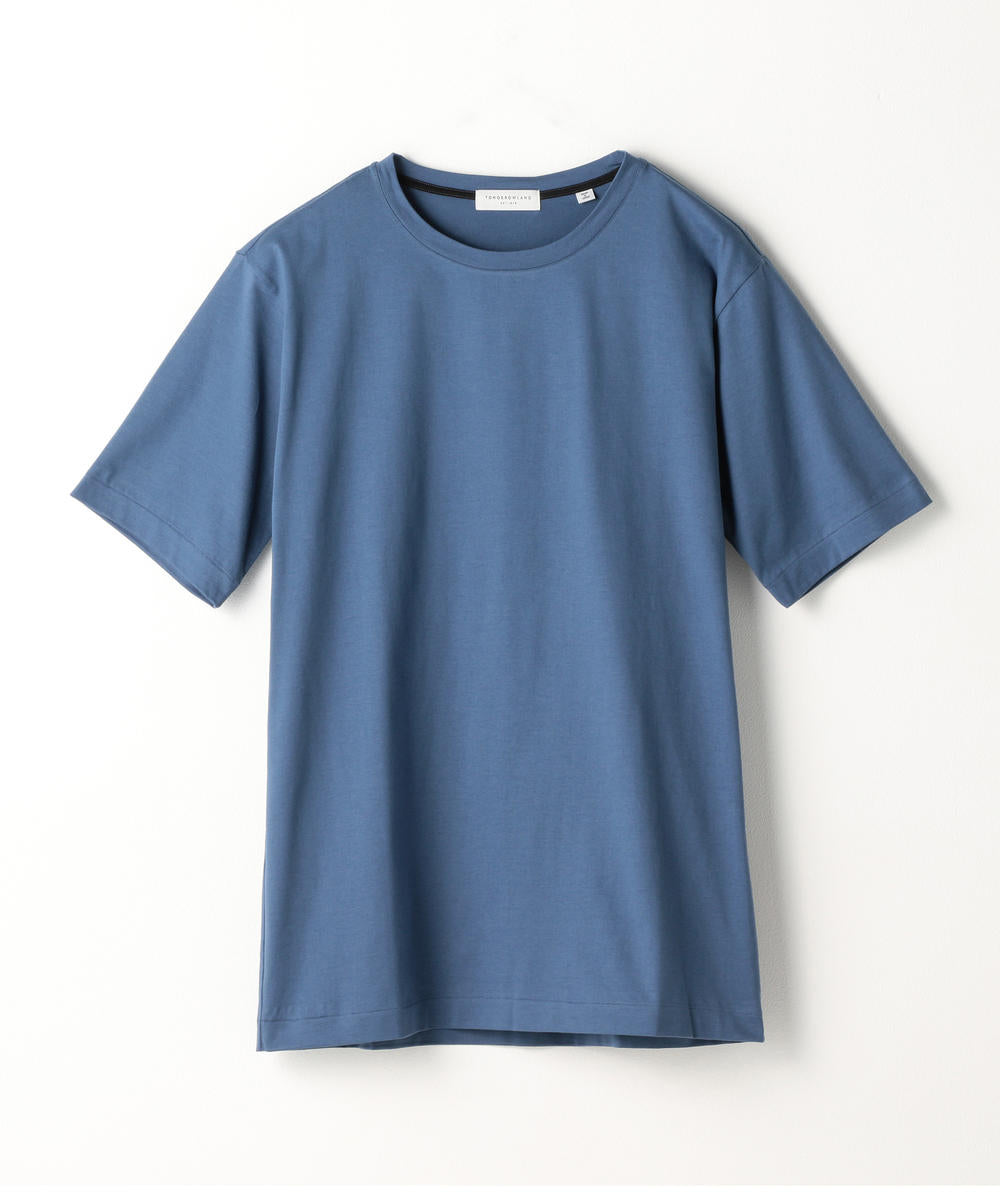 Suvin Cotton Purity Jersey T-Shirt Blue