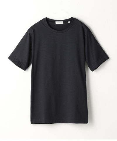Suvin Cotton Purity Jersey T-Shirt in Navy
