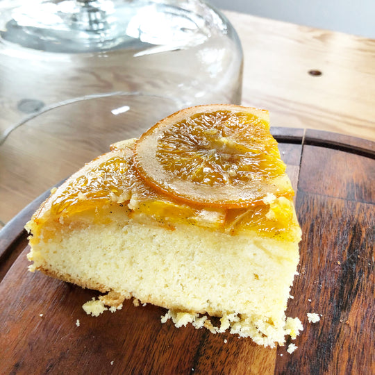 Orange Cake.... Upside Down!