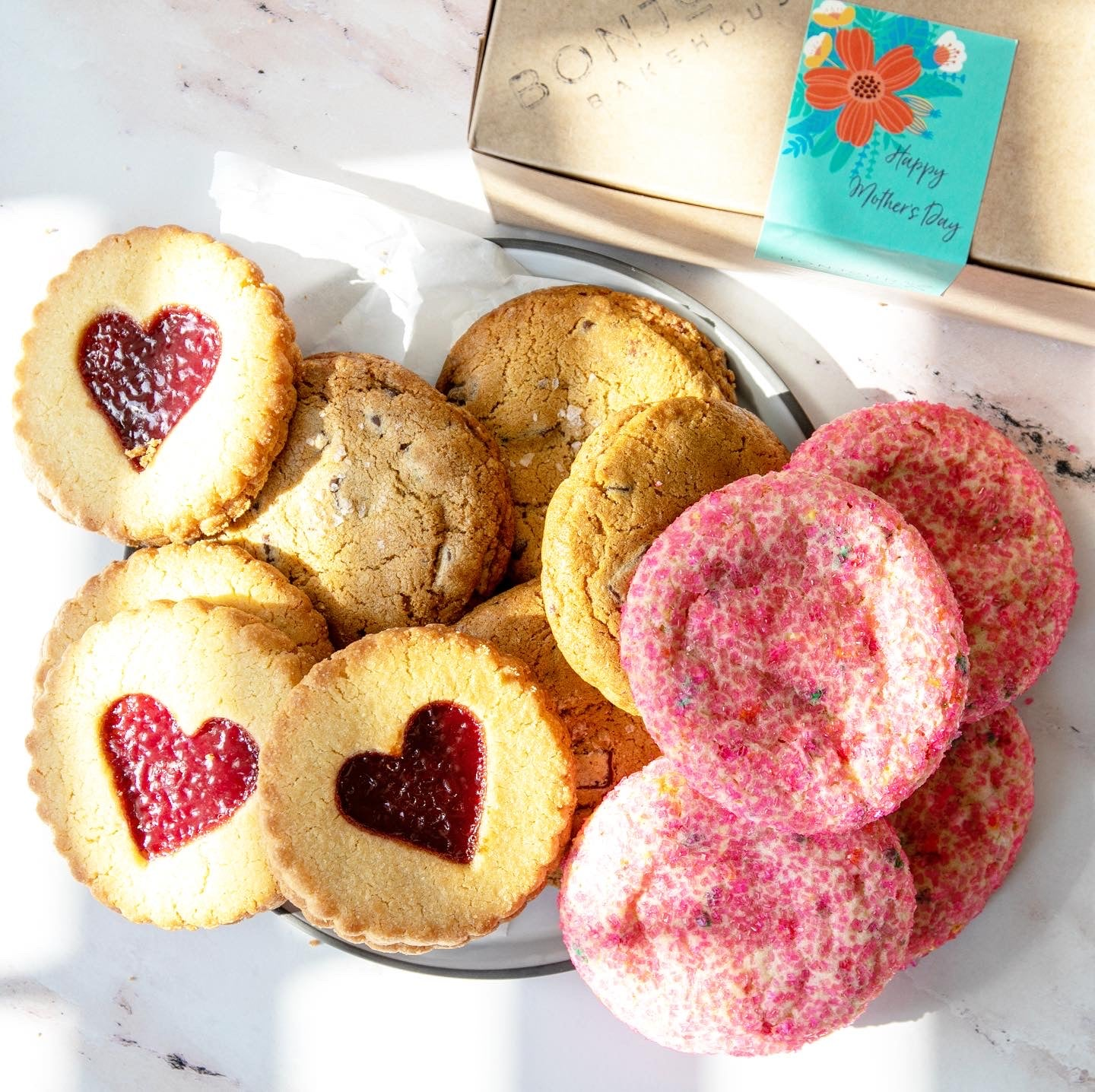 M💗m -  Mother's Day Assorted Cookies