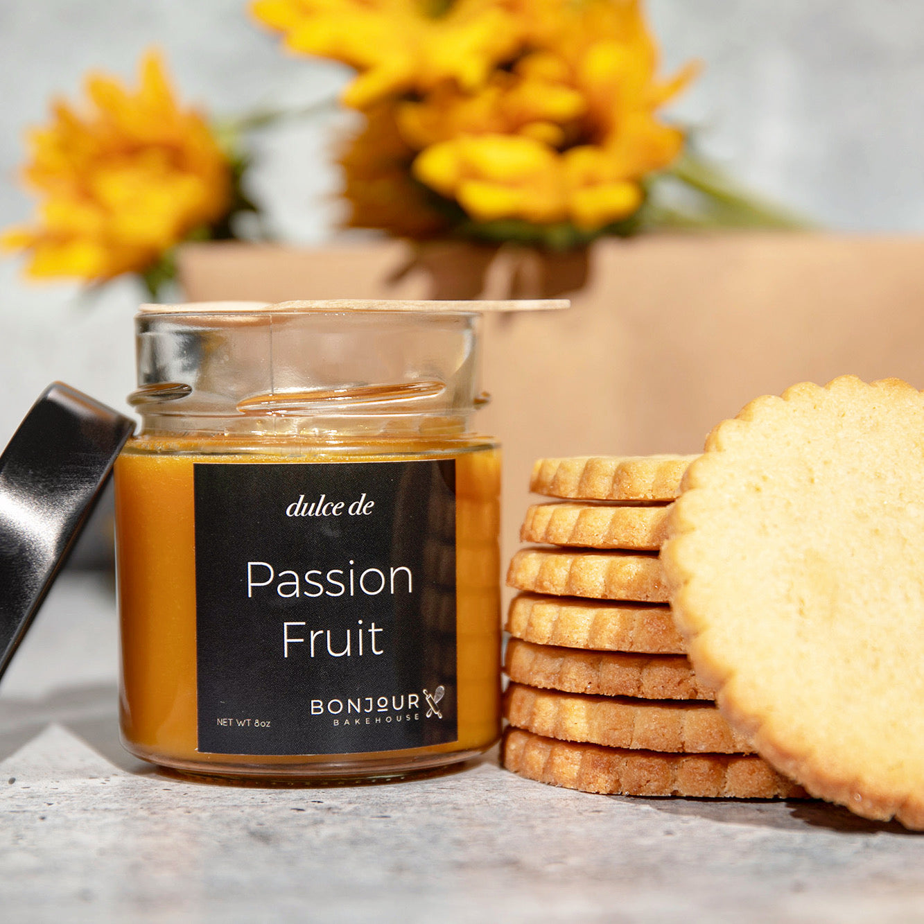 Gourmet Gift Box - Passion Fruit + Butter Cookies