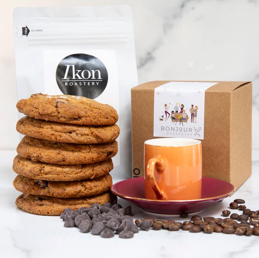Holiday Gift Box - Cookies and Caffeine
