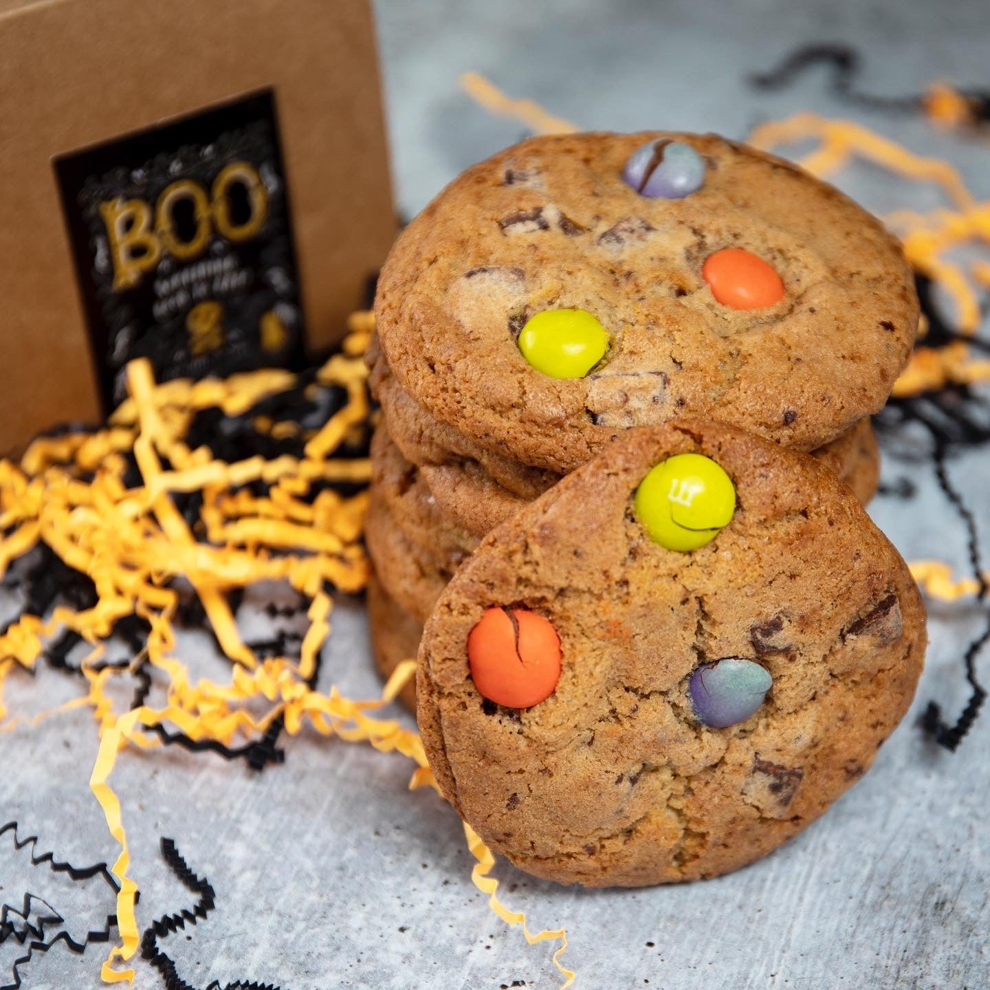 Halloween -  Chocolate Chip & Peanut Butter M&M's