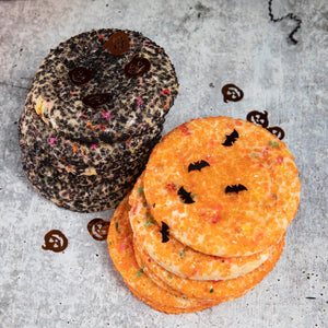 Halloween - Orange & Black Sugar Cookies