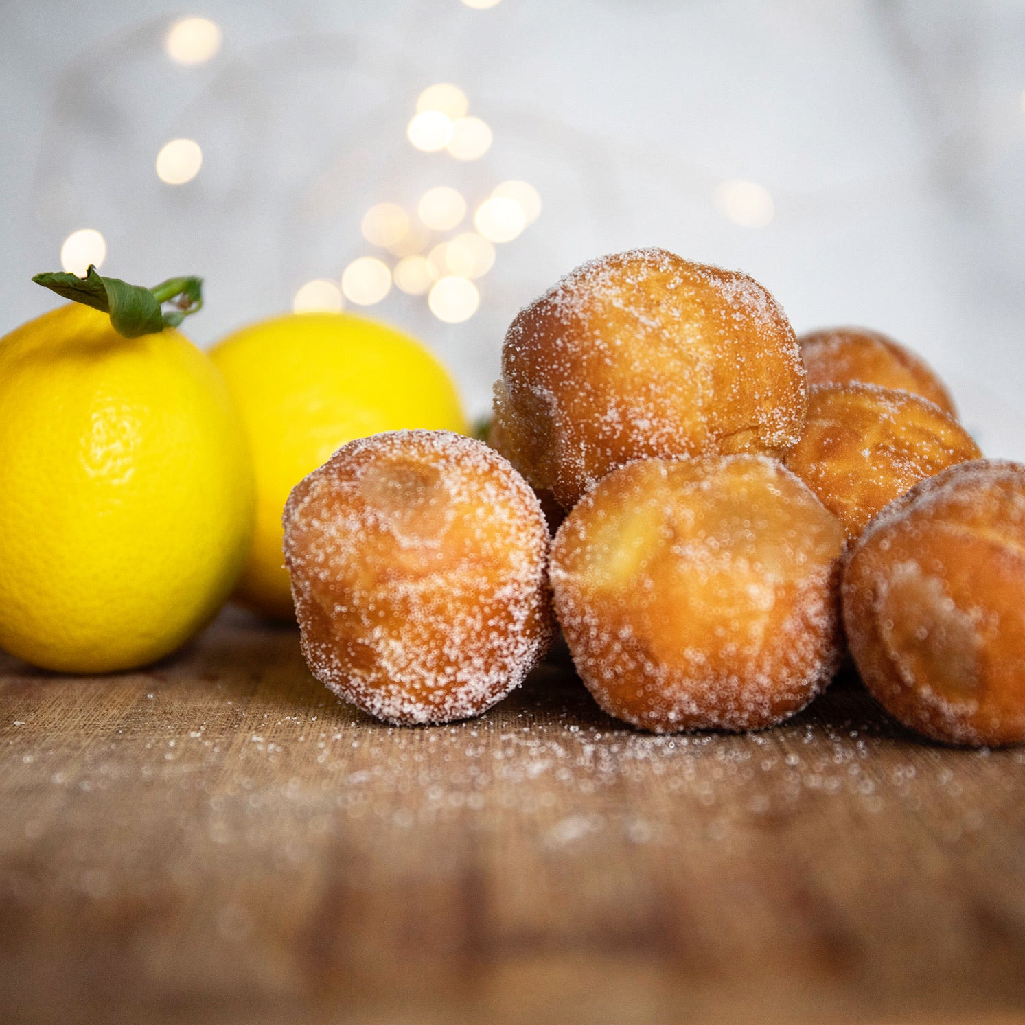 Mini Doughnuts - Lemon