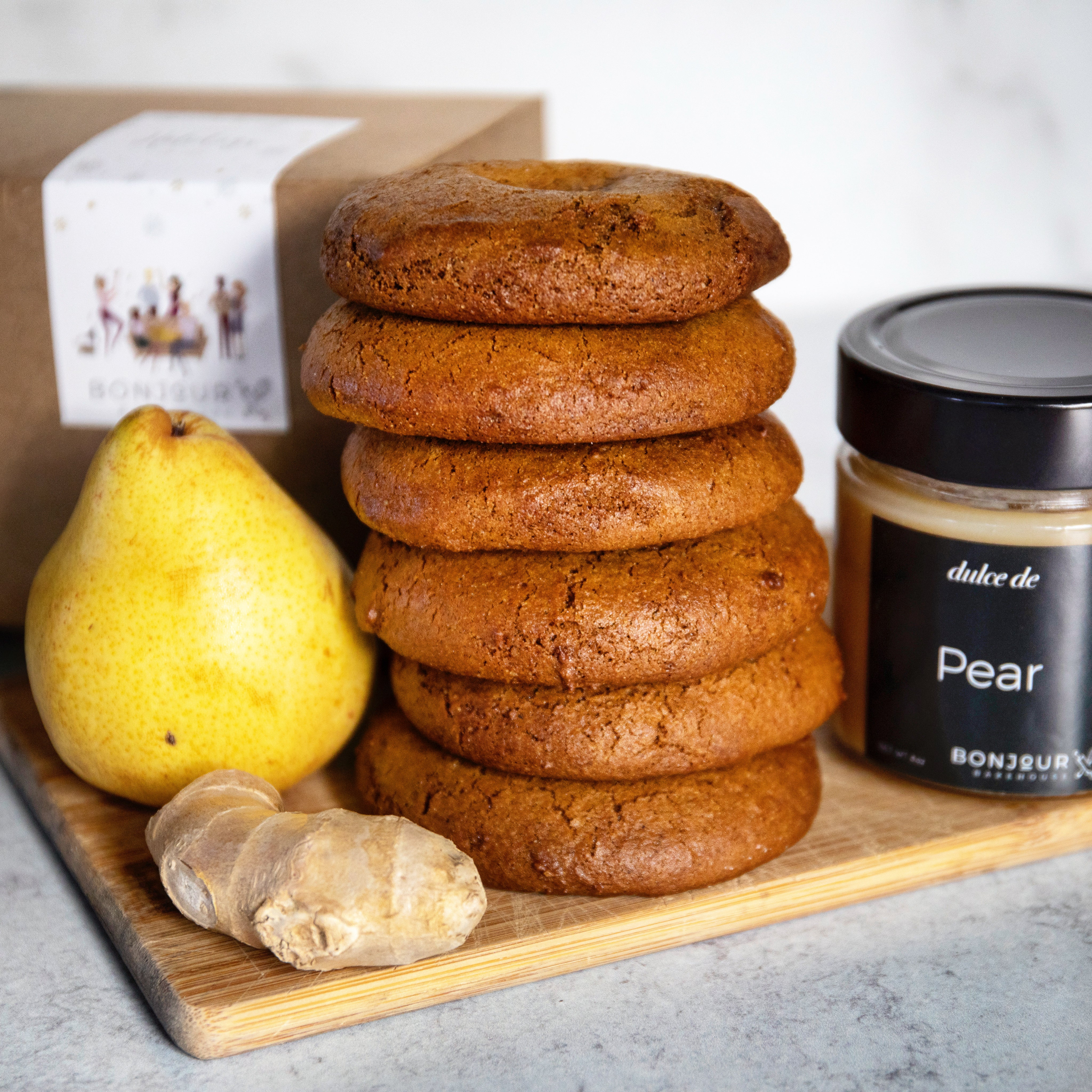 Holiday Gift Box - Pear + Gingersnap