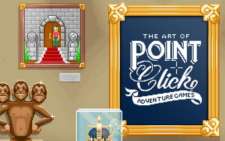 Progress update: The Art of Point-and-Click Adventure Games