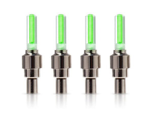 LED Tire Valve Stem Cap Lights (Set Of 4)