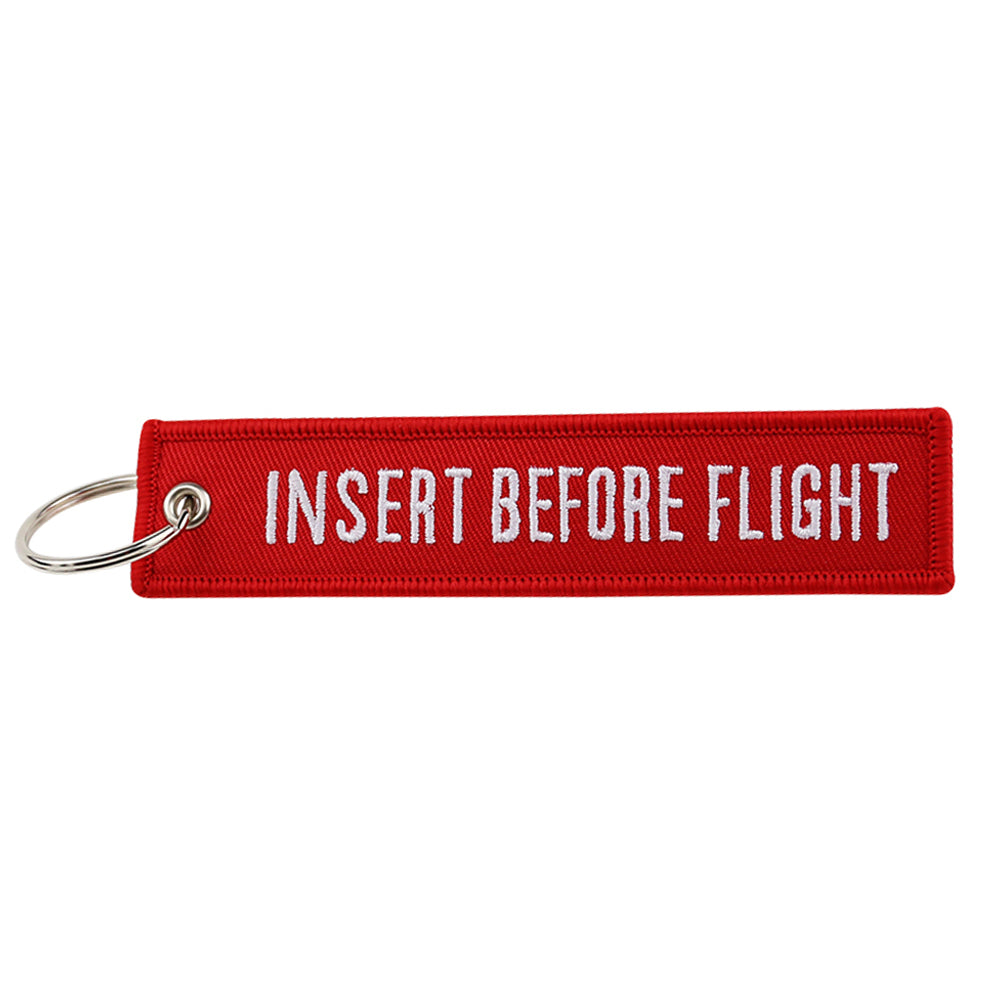 Insert Before Flight Key Tag