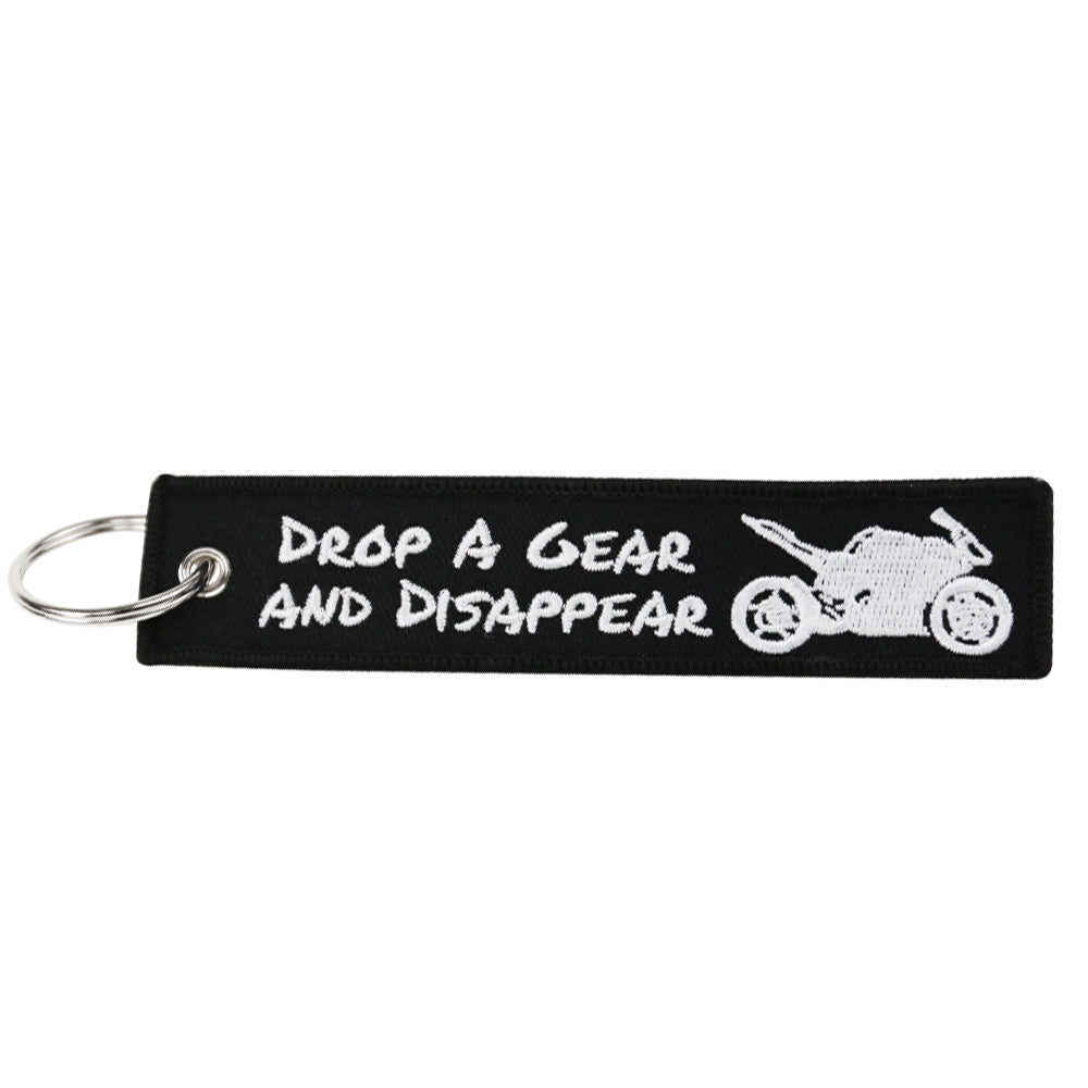 Drop A Gear And Disappear Key Tag