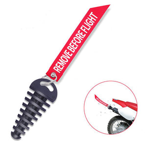 Remove Before Flight Exhaust Plug