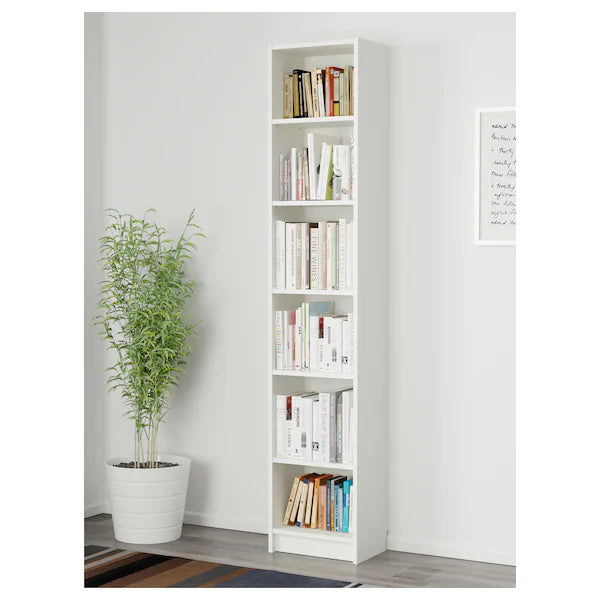 IKEA BILLY Bookcase, 40 cm, white