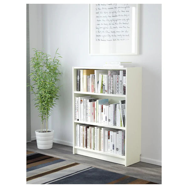 IKEA BILLY low Bookcase, white