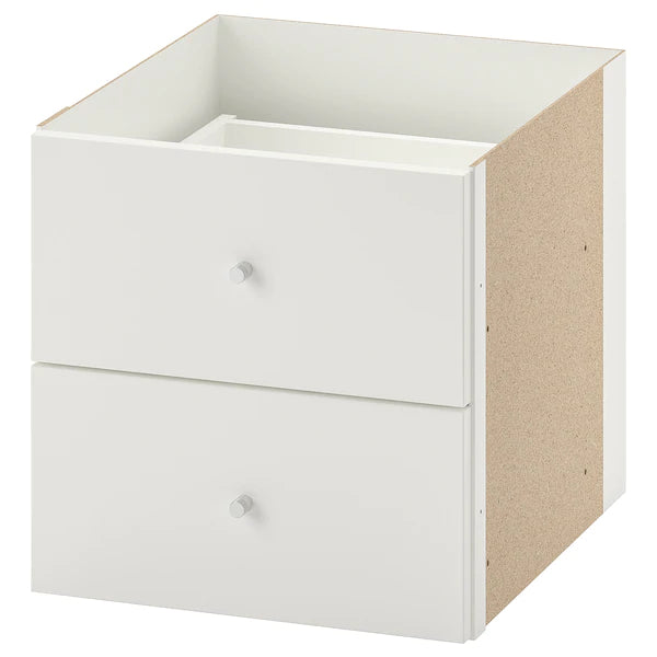 IKEA KALLAX Insert with 2 drawers