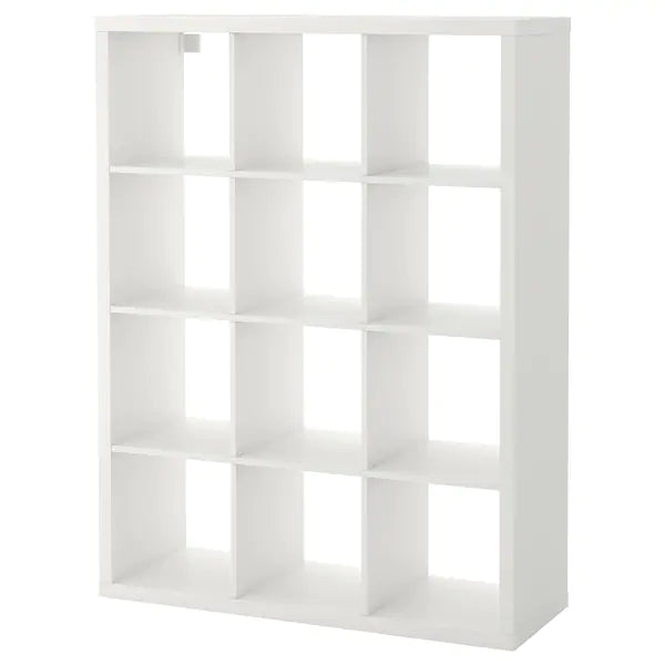 IKEA KALLAX Shelving unit, 4x3, white