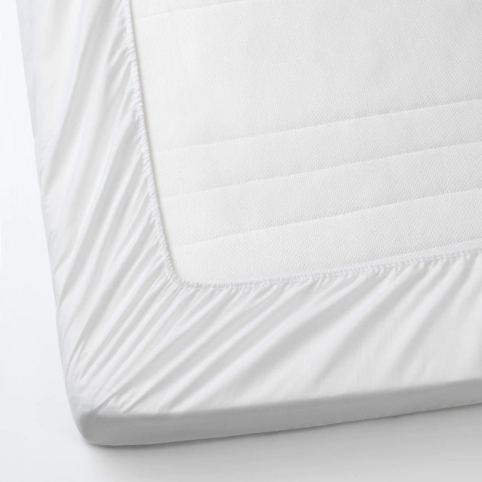 IKEA LENAST Mattress protector for cot, white, 60x120 cm