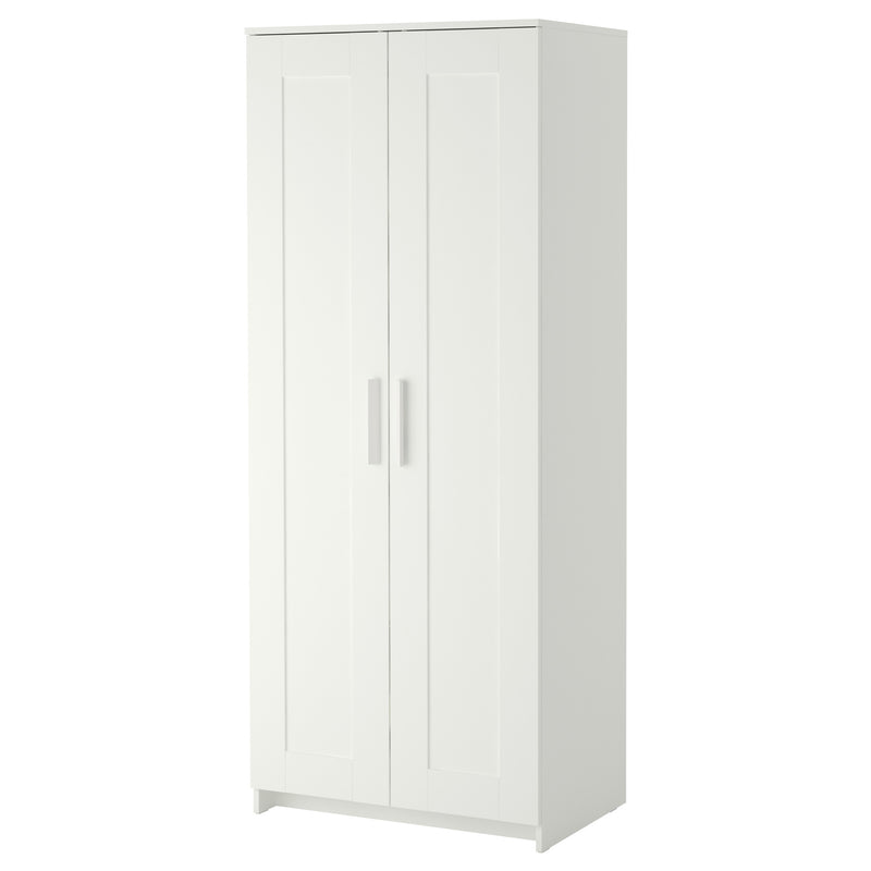 IKEA BRIMNES Wardrobe with 2 doors, white