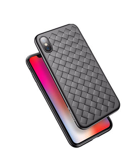 Luxury Grid Weaving iPhone Case