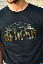 Run The Play Saints Shirt - Shop La's Showroom