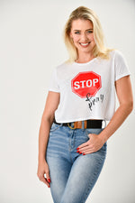Stop & Pray Crop Top - Shop La's Showroom