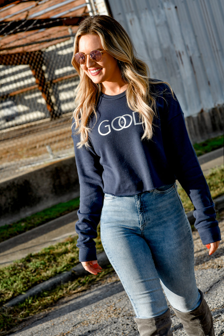 God is good Navy - Shop La's Showroom