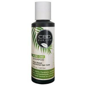 CBD For Life - Pure CBD Shampoo Travel Size - Hemp Living USA