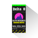 Alto Heights - Delta 8 (400mg) CBD (700mg) Cigarettes - Banana Runtz 10ct Pack