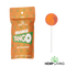 Hemp Living - Delta 8 Lollipops 50mg (2-Pack) Orange Tango