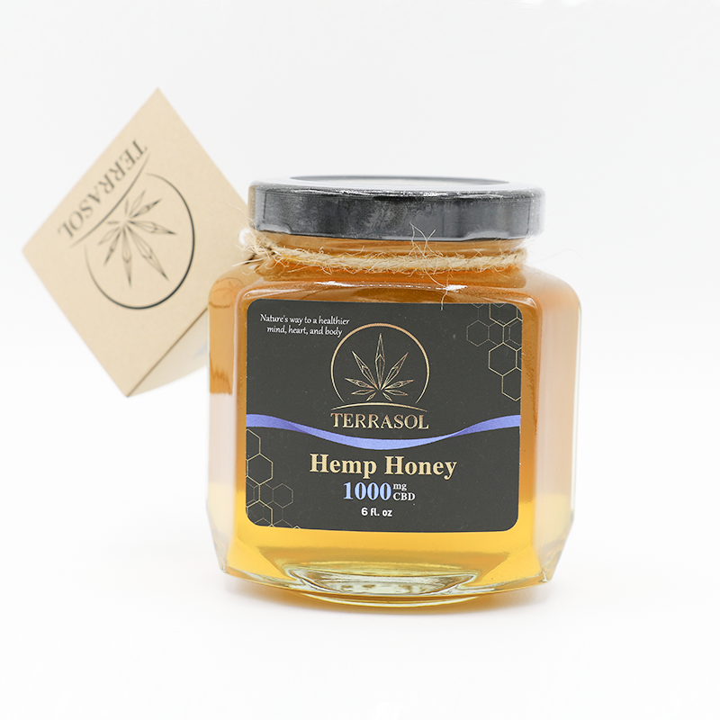 Terrasol Pure CBD Hemp Honey - 6oz - Hemp Living USA