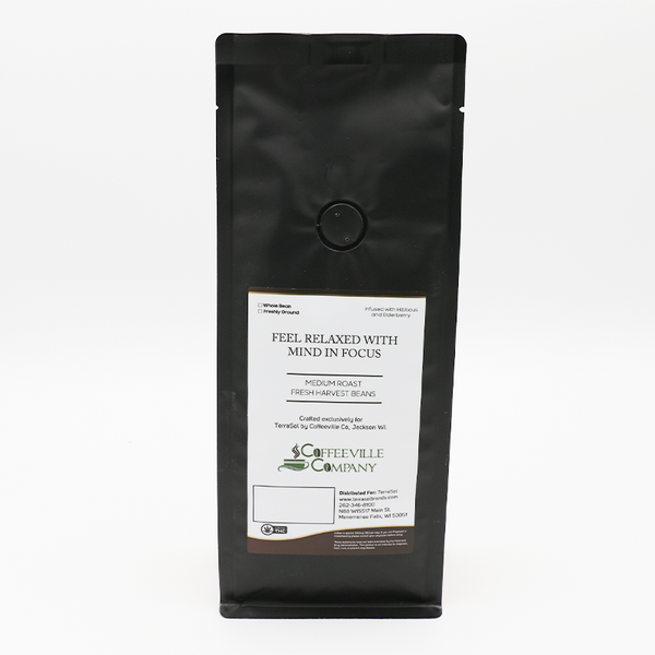 Terrasol Lull CBD Coffee - Whole