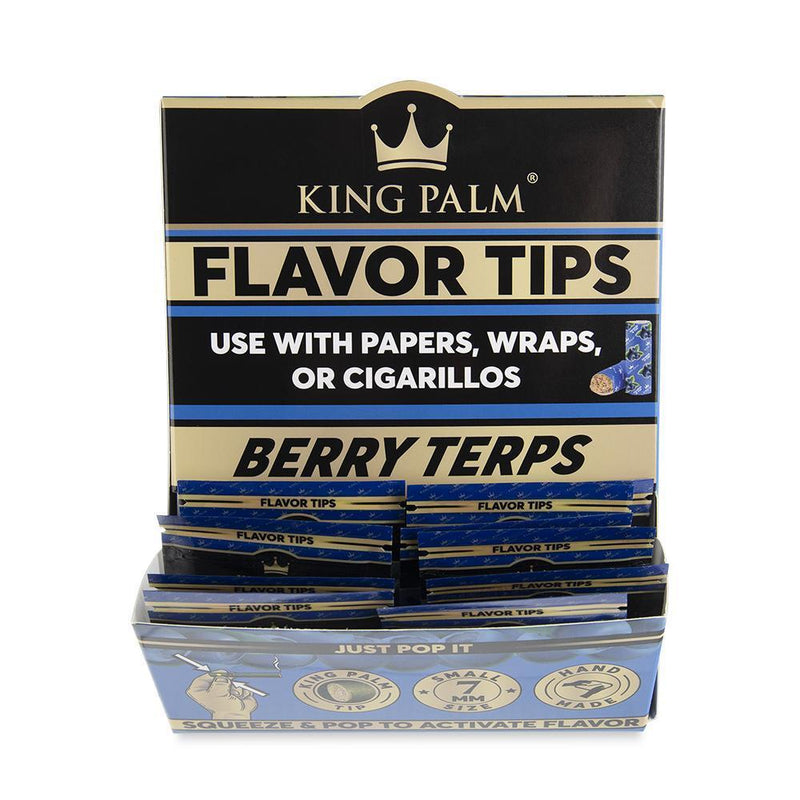 King Palm - 2pk Terps Filters (Variety of Flavors) - Lot of 10