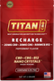 Titan CBD Recharge 20mg Single Packet - Hemp Living USA