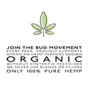 Lifted Living BUD™  Menthol HempCigs - Pack of 10 - Hemp Living USA