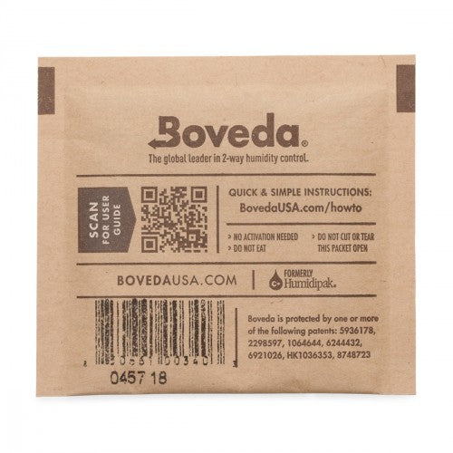 Boveda 62% 8g - Hemp Living USA