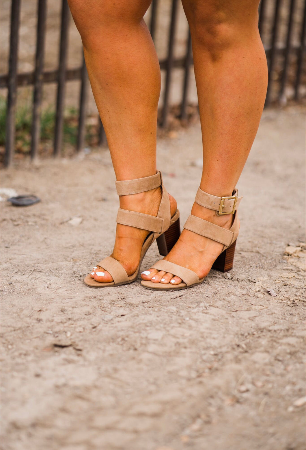 : The SOFIA HEELED Sandal :