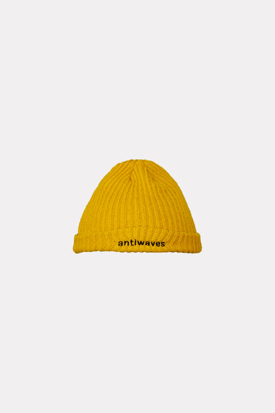 The Tides Mustard Beanie
