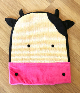 Cow Plush Sisal Scratch Pad (FREE SHIPPING)