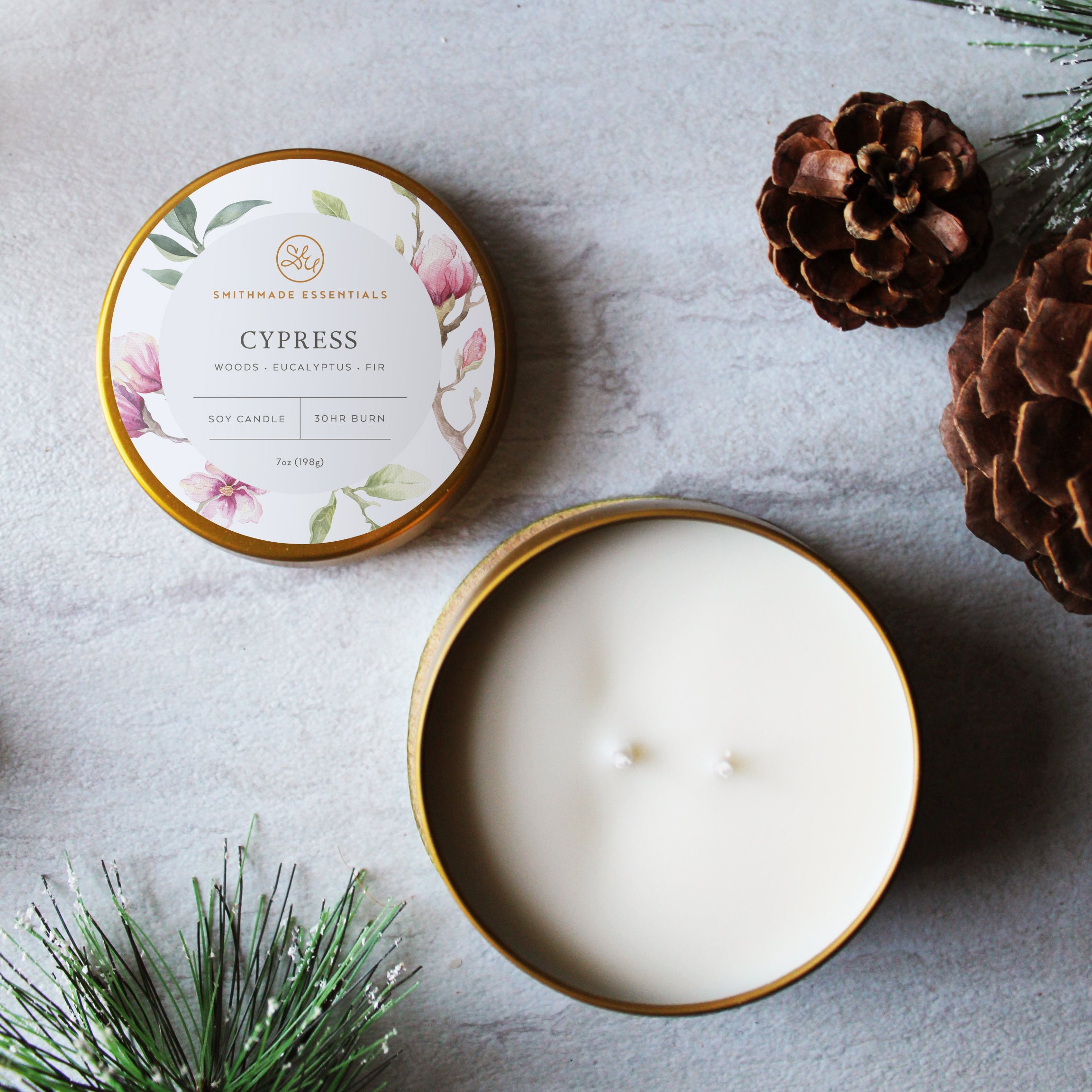 Cypress Soy Candle