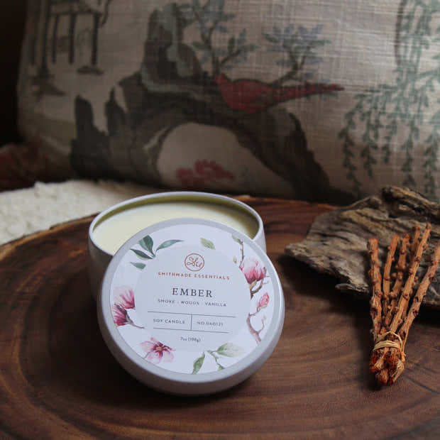 Ember Soy Candle WS 1