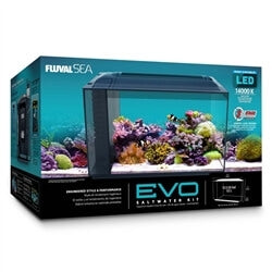 FLUVAL SEA  Evo Aquarium Kit 13.5 Gallons (NO Free Freight)