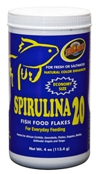 ZooMed Spirulina 20 Flakes 4 oz